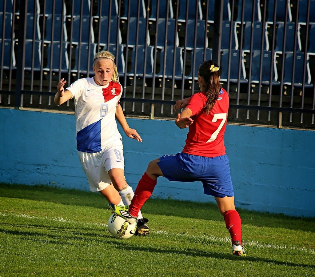 defensive stance soccer